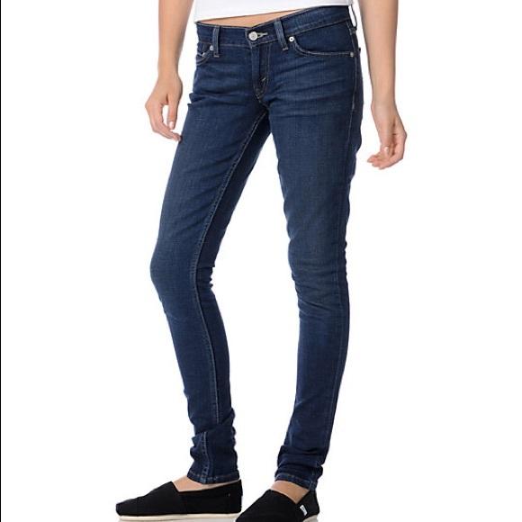 Poshmark Levi's Superlow 524 Jeans Levis Denim Skinny Too xUnU0FHrq